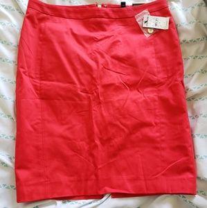 Beautiful red pencil skirt